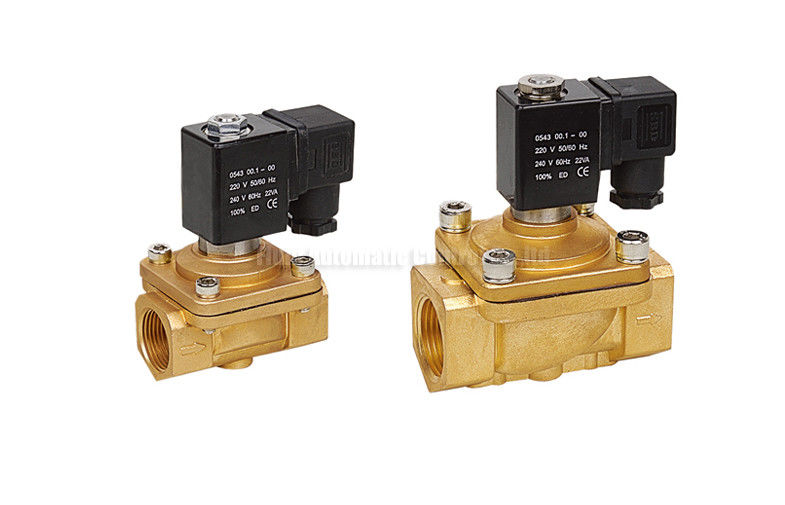 "Direct Acting PU220 2 Way Pneumatic Solenoid Valve G1/8"" - G1"" Port Size"