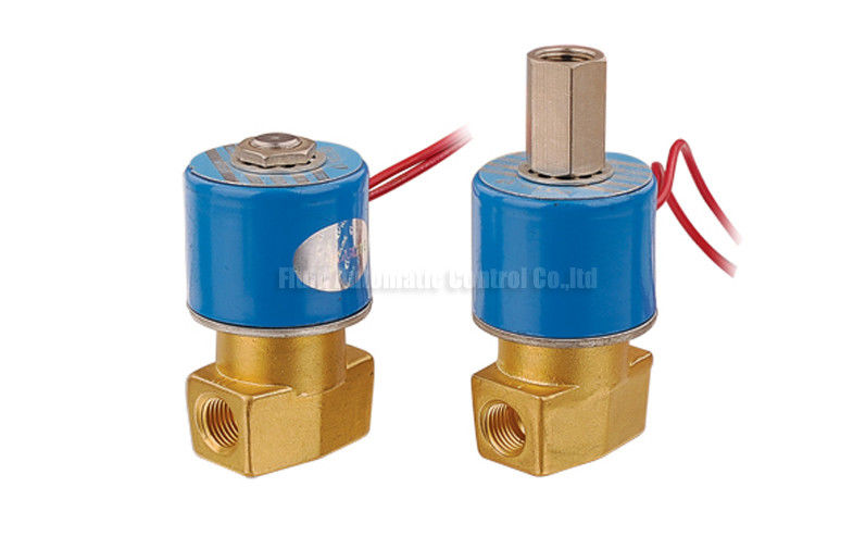 2 Way Pneumatic Solenoid Valve BV Series , 12 Volt Pneumatic Valve