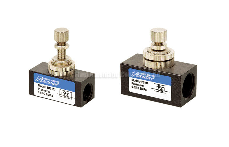 Pneumatic Flow Control Valves : Mini pneumatic flow control valve g quot for and speed