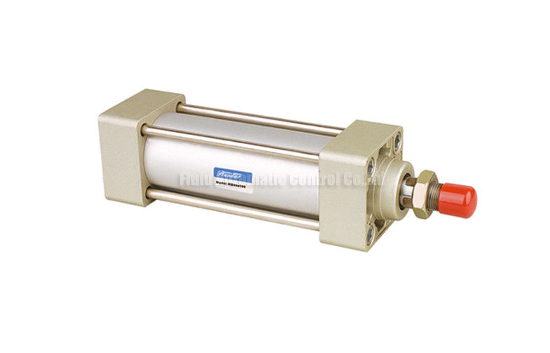 MB Series Standard Tie-rod Double Acting Pneumatic Air Cylinder,Bore Size 32mm-100mm With Adjustable Air Buffer