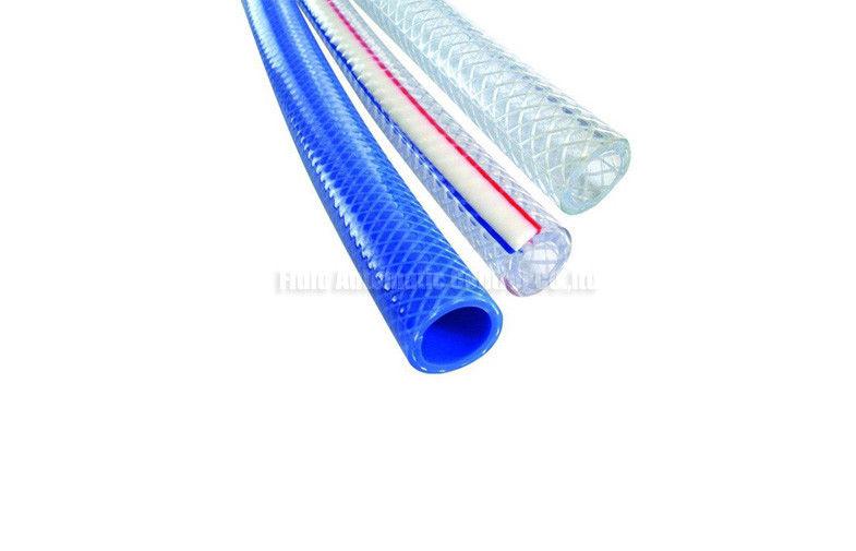 Polypropylene Fiber Reinforced Hose , Soft PVC Pneumatic Air Hose