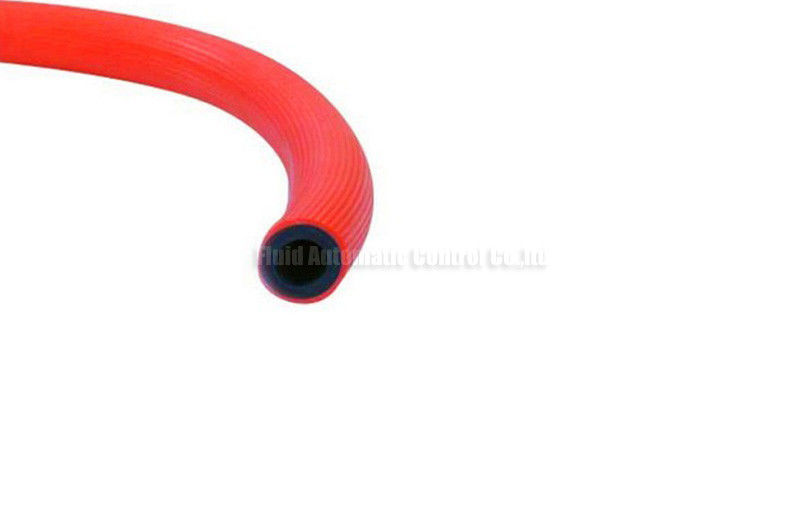 "3/8"" High Tensile PVC Fiber Reinforced Pneumatic Air Hose For Fuel Gas And Nature Gas"