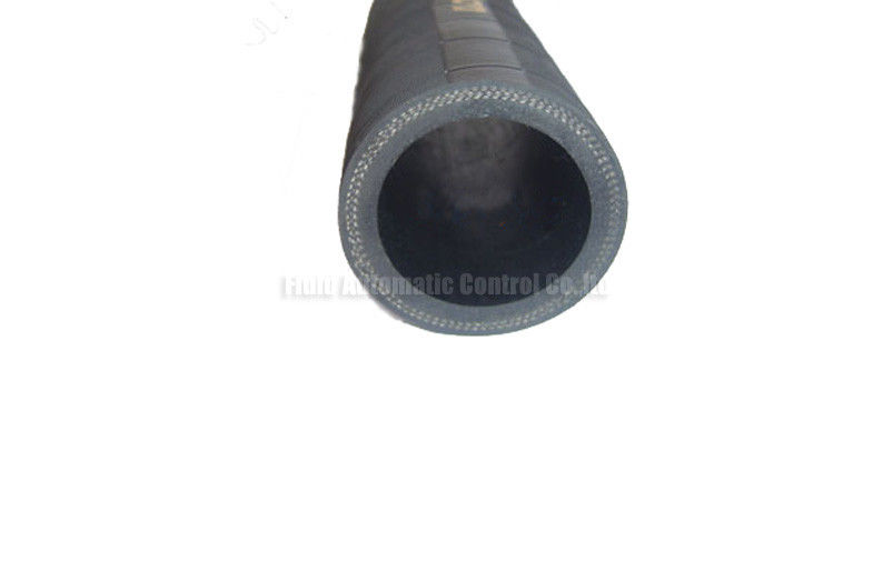 305mm High Tensile Cotton Fabric Reinforced Black Rubber Hose Pipe