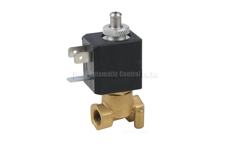 Coffee Maker Valve : 2/2 And 3/2 Direct Acting Brass Solenoid Valve 1.5mm G1/8