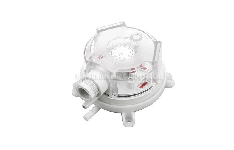 SPST / SPDT 6mm Tube Fast Connecting20-2500Pa Vacuum Pressure Switches IP54 For Frost Protection