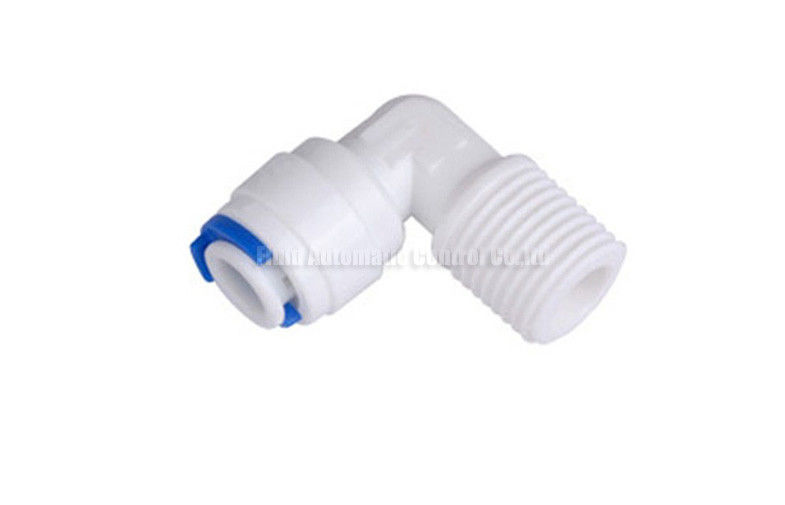 Plastic Water Adapter Fast Connector Fitting For RO Water