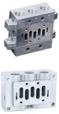 5-Way Solenoid Operated Directional Control Valve