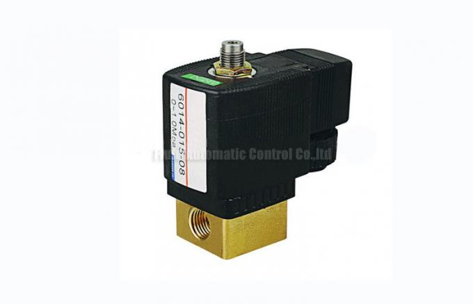 "1.5mm G1/4""  Three  Way Miniature  Solenoid Operated Directional Control Valve For Nitrogen"