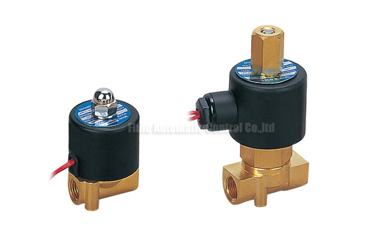 Brass 2 Way Pneumatic Solenoid Valve