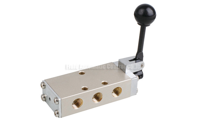 Dump Body Lever Actuated Switch : Hand lever pneumatic directional control valve five way pt quot