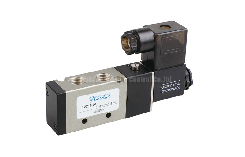 Single Acting Solenoid Operated Directional Control Valve