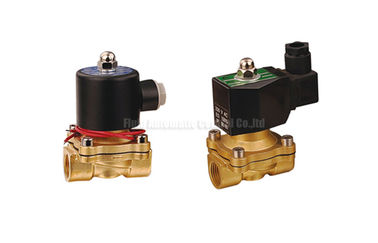 "China 16~50mm Orifice 2/2 Brass Pneumatic Solenoid Valve G1/2""~G2"" With Viton Seal distributor"