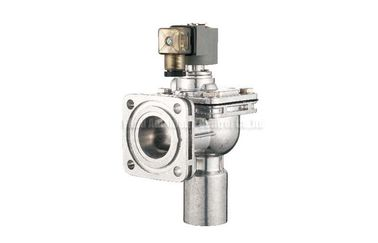 China Flange Type Remote Solenoid Pulse Jet Valve , Right Angle Pulse Control Valve distributor