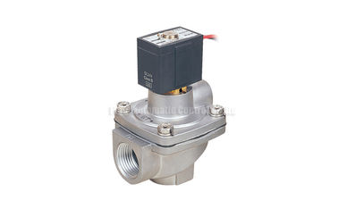 "China Aluminum Two Position Three Way Pulse Jet Valve , G1/2"" Pilot Operated Valve factory"