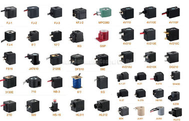 China 12V 48W Pneumatic Electromagnetic Valve Coil , Pneumatic Solenoid Valve Coil distributor
