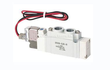 China SY5120 G1/4 Two Position Five Way Solenoid Valve SMC Equivalent distributor