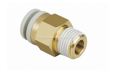 China Pneumatic Tube Fittings , Air Hose Rapid Connector distributor